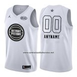 Camiseta All Star 2018 Detroit Pistons Nike Personalizada Blanco