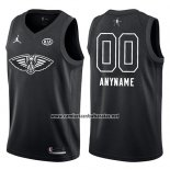 Camiseta All Star 2018 New Orleans Pelicans Nike Personalizada Negro