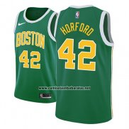 Camiseta Boston Celtics Al Horford #42 Earned 2018-19 Verde