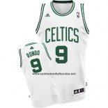 Camiseta Boston Celtics Rajon Rondo #9 Blanco