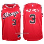 Camiseta Chicago Bulls Doug McDermott #3 Retro Rojo