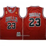 Camiseta Chicago Bulls Michael Jordan #23 1996-97 Finals Rojo