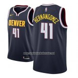 Camiseta Denver Nuggets Juan Hernangomez #41 Icon 2018-19 Azul