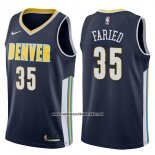 Camiseta Denver Nuggets Kenneth Faried #35 Icon 2017-18 Azul
