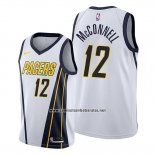 Camiseta Indiana Pacers T.j. Mcconnell #12 Earned Blanco