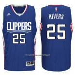 Camiseta Los Angeles Clippers Austin Rivers #25 Azul