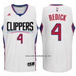 Camiseta Los Angeles Clippers JJ Redick #4 Blanco