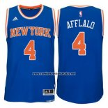 Camiseta New York Knicks Arron Afflalo #4 Azul
