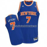 Camiseta New York Knicks Carmelo Anthony #7 Azul