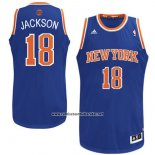 Camiseta New York Knicks Philip Jackson #18 Azul