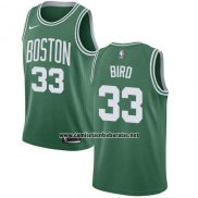 Camiseta Nino Boston Celtics Larry Bird #33 Ciudad 2018 Verde