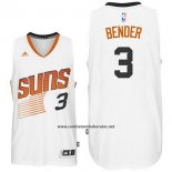 Camiseta Phoenix Suns Dragan Bender #3 Blanco