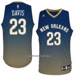Camiseta Resonate Moda New Orleans Pelicans Anthony Davis #23 Azul