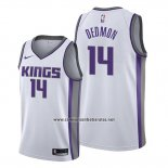 Camiseta Sacramento Kings Dewayne Dedmon #14 Association Blanco