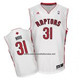 Camiseta Toronto Raptors Terrence Ross #31 Blanco
