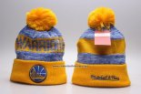 Gorro Golden State Warriors Amarillo Azul