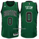 Camiseta Boston Celtics Jayson Tatum #0 Verde