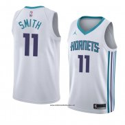Camiseta Charlotte Hornets Zach Smith #11 Association 2018 Blanco