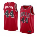 Camiseta Chicago Bulls Brandon Sampson #44 Icon 2018 Rojo