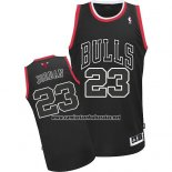 Camiseta Chicago Bulls Michael Jordan #23 Retro Negro