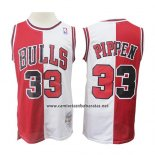 Camiseta Chicago Bulls Scottie Pippen #33 Retro Rojo Blanco