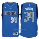 Camiseta Dallas Mavericks Devin Harris #34 Azul