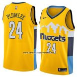 Camiseta Denver Nuggets Mason Plumlee #24 Statement 2018 Amarillo