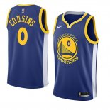Camiseta Golden State Warriors Demarcus Cousins Icon #0 2018-19 Azul
