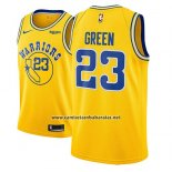 Camiseta Golden State Warriors Draymond Green #23 2018-19 Oro