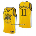 Camiseta Golden State Warriors Klay Thompson #11 Earned 2018-19 Amarillo