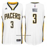 Camiseta Indiana Pacers George Hill #3 Blanco