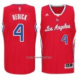 Camiseta Los Angeles Clippers JJ Redick #4 Rojo