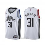 Camiseta Los Angeles Clippers Marcus Morris Sr. #31 Ciudad Blanco