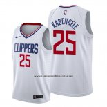 Camiseta Los Angeles Clippers Mfiondu Kabengele #25 Association 2019-20 Blanco