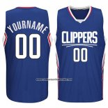 Camiseta Los Angeles Clippers Personalizada Azul