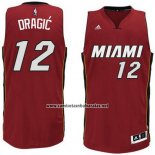 Camiseta Miami Heat Goran Dragic #12 Rojo