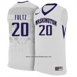 Camiseta NCAA Washington State Markelle Fultz #20 Blanco