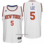 Camiseta New York Knicks Courtney Lee #5 Blanco