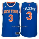 Camiseta New York Knicks Jose Calderon #3 Azul