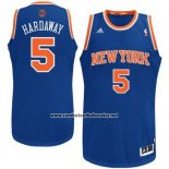 Camiseta New York Knicks Tim Hardaway #5 Azul