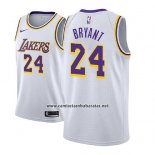 Camiseta Nino Los Angeles Lakers Kobe Bryant #24 Association 2018-19 Blanco