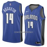 Camiseta Orlando Magic D.j. Augustin #14 Icon 2018 Azul