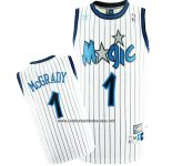Camiseta Orlando Magic Tracy McGrady #1 Retro Blanco