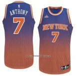 Camiseta Resonate Moda New York Knicks Carmelo Anthony #7 Rojo