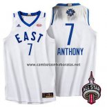 Camiseta All Star 2016 Carmelo Anthony #7 Blanco