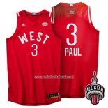 Camiseta All Star 2016 Chris Paul #3 Rojo