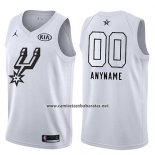 Camiseta All Star 2018 San Antonio Spurs Nike Personalizada Blanco