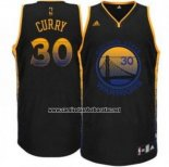 Camiseta Ambiente Golden State Warriors Stephen Curry #35 Negro