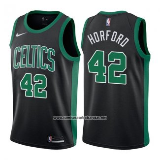 Camiseta Boston Celtics Al Horford #42 Mindset 2017-18 Negro