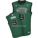 Camiseta Boston Celtics Rajon Rondo #9 Verde